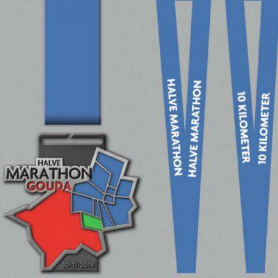 Medaille Halve Marathon Gouda